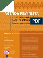 Agenda Feminista Democratizacao Poder Reforma Politica
