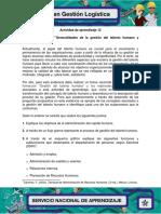 12.1 Evidencia 12.1 Taller Generalidades de La Gestion Del Talento Humano y Subprocesos