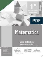 Matematica Guia 1