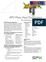 Plate Heat Exchangers - For Sanitary Applications