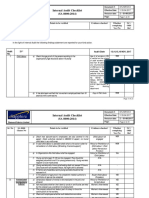 SA 8000 Internal Audit Check List