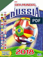 Album Copa del Mundo Rusia 2018 Gol