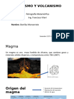 Magmatismo y Volcanismo