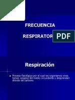 2- Control de Frecuencia Respiratoria