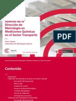 22 Avances de La Dirección de Metrología en Mediciones Químicas en El Sector Transporte
