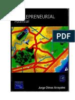 Entrepreneuer Development Entrepreneurial Potential Book