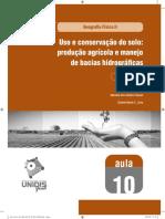 Uso e Conservação Do Solo_manejo Agrícola e Gestão de Bacia Hidro