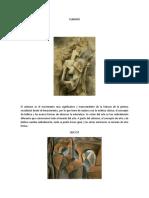 CUBISMO Historia Del Arte