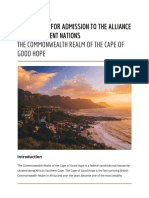 Cape of Good Hope Official Application