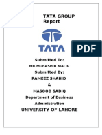 Tata Group Assignment