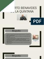 Alberto Benavides de La Quintana