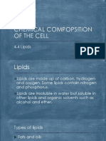 Chemical Compopsition of the Cell