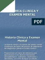 HSTORIA CLINICA Y EXAMEN MENTAL - Psicopatología.ppt