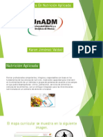 Promoción Lic en Nutrición Aplicada