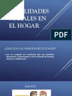 Habilidades Sociales en El Hogar