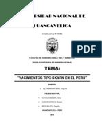 Yacimientos Tipo Skarn en El Peru