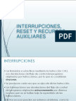 Interrupciones, Reset y Recursos Auxiliares Pic16f84