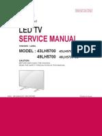 Service Manual 43lh5700