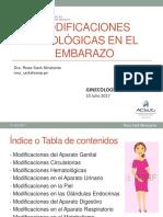 33. CLASE Modificaciones Fisiolgicas en El Embarazo