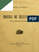 ARIAS, Virginio. Memoria historica de la Escuela de Bellas Artes de Santiago.pdf