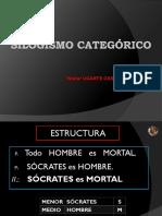 SILOGISMO CATEGÓRICO.2017
