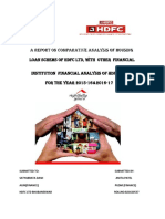 A Report on Comparative Ananysis of Housing
