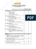 Final Report Evaluation Form (Degree)