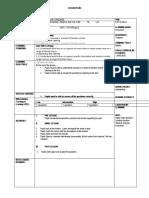 Form1 Latest Lesson Plan