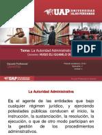 2.La Competencia Administrativa