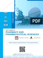 Gulf Congress on Pharmacy and Pharmaceutical Sciences 2018