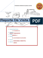 Reporte de Visita de Obra