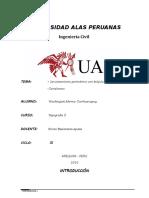 Informe de Topografia I - Practica 3 y 4