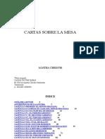 Cartas Sobre La Mesa - Agatha Christie
