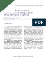 Debates Sobre Cultura y Marxismo_ Una Comparación Entre Williams y Sahlins