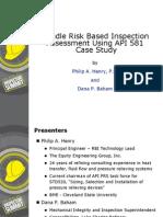 Bundle RBI Assessment Using API 581 Philip Henry