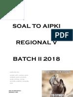 [Aipki] Soal Regional v Batch 2 2018