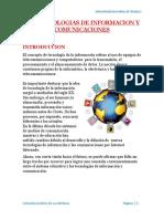 Las Tecnologias de Informacion y Comunicaciones