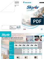 Skyair Non Inverter R-410a Cooling Only Type Standard Model