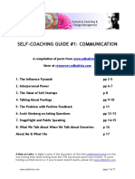 Ed Batista Self-Coaching Communication