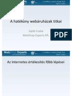 Zajdó Csaba - Hatékony Webáruház