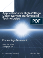 Applications of HVDC Technologies - Summary FINAL