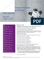 0401 Italy New VAT Measures Introduced by the Budget Law 2018 and Other Legislation
