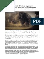 """Das 2.000 Jahre Alte """"Buch Der Giganten"""" Beschreibt, Wie Die Nephilim Vernichtet Wurden"""