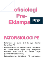 Patofisiologi Pre-Eklampsia