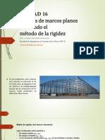 UNIDAD 16 Matriz de Rigidez Porticos
