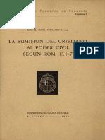 Ferrando - La Sumisión Del Cristianismo Al Poder Civil. 190591