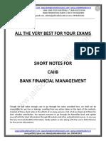 CAIIB-BFM-Short Notes by Murugan