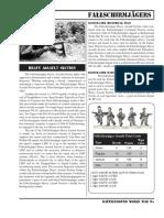 BGWWII FJ Assault Section Sheet