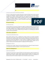 IE GMBA Course Description