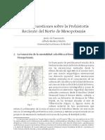Gil Fuensanta, Mederos Martín - 2015 - Algunas Cuestiones Sobre La Prehistoria Reciente Del Norte de Mesopotamia